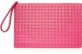 Valentino The Rockstud leather clutch