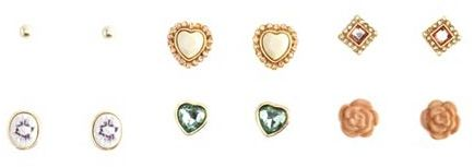Charlotte Russe Vintage Darling Earring Set