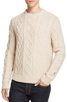 Original Penguin Fisherman Cable Knit Sweater