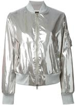 Love Moschino metallic bomber jacket
