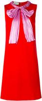 Gucci bow dress - women - Silk/Polyamide/Spandex/Elastane/Viscose - S