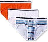 Nautica Men's 3-Pack Cotton Stretch Brief