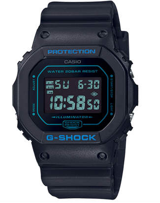 G-Shock G Shock DW5600BBM-1 Black & Blue Digital Watch