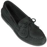 Minnetonka Women's Moosehide Classic Ankle-High Leather Flat Shoe - 9.5M
