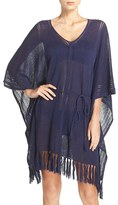 Tommy Bahama Women's Linen Blend Cover-Up Poncho
