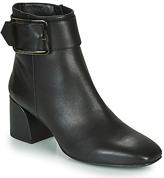 Fericelli NUCHE women's Low Ankle Boots in Black