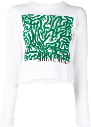 MAISIE WILEN YS104 graphic T-shirt