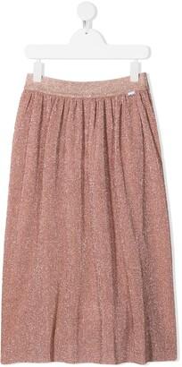 Molo TEEN glitter-embellished skirt