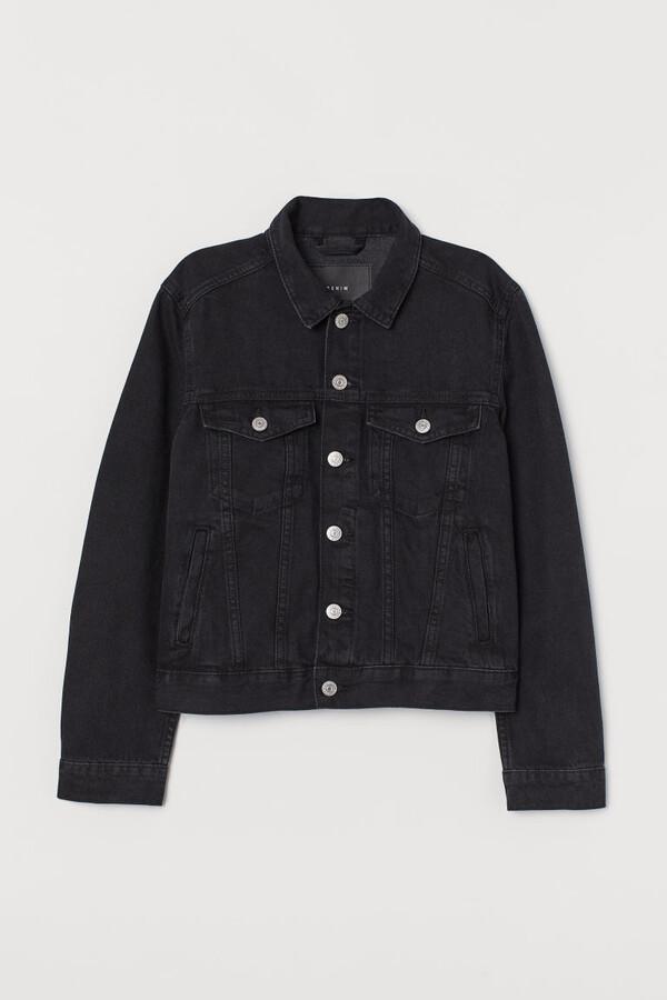 H&M Denim Jacket - Black