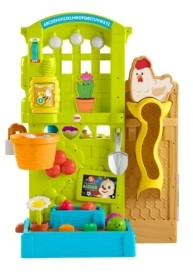 Fisher-Price Laugh & Learn Grow-the-Fun Garden to Kitchen
