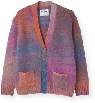 RE/DONE 90s Oversized Wool Cardigan