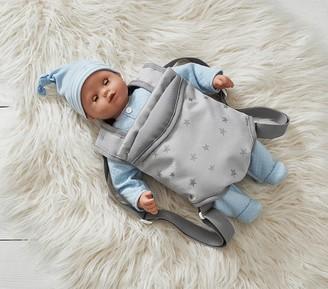 Pottery Barn Kids Gotz Baby Doll Lucas Gray Star Carrier Bundle Set