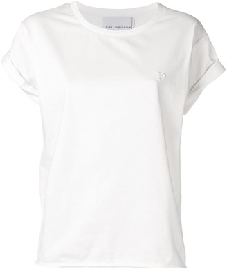 Philosophy di Lorenzo Serafini logo embossed T-shirt