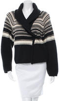 Sonia Rykiel Fleece Wool & Angora-Blend Cardigan
