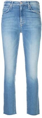 Mother Raw-Cuffs Skinny Jeans
