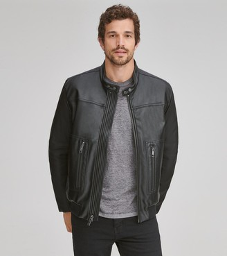Marc New York   Final Sale Griffith Mixed Media Bomber