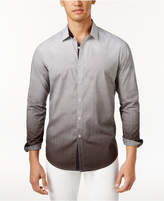 INC International Concepts Men's Ombré Geometric Pattern Shirt, Only at Macy's