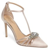 Badgley Mischka Women's Cabo Embellished Pointy Toe Pump