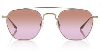 Barton Perreira Doyen Aviator-Style Titanium Sunglasses