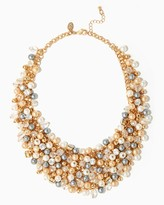 Charming charlie Bubbly Bauble Statement Necklace