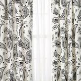 Dormify Bandana Print Window Panel Set of 2