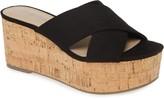 Charles by Charles David Civil Platform Wedge Slide Sandal