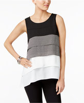 Alfani Tiered Top, Only at Macy's