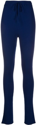 Marques Almeida Rib Knit Leggings