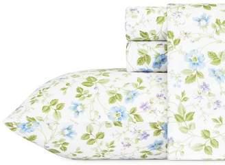 Laura Ashley Cotton Sheet Set Spring Bloom