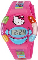 Hello Kitty Kids' HKKD5886 Digital Display Quartz Multi-Color Watch