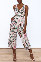 Plenty by Tracy Reese Floral Midi Jumpsuit