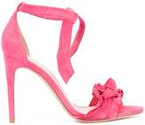 Alexandre Birman ankle tie heeled sandal - women - Leather/Suede - 36