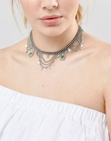 Pieces Statement Choker