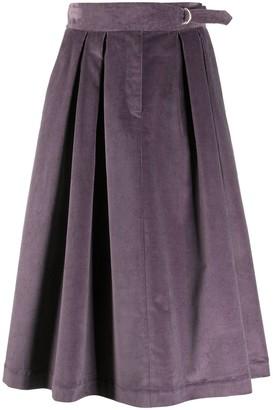 Paul Smith corduroy A-line skirt