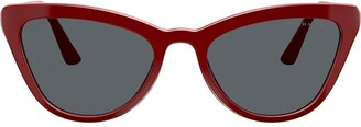 Prada cat eye frame sunglasses