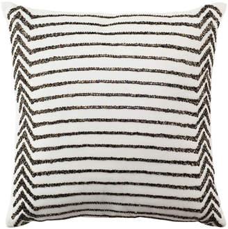 Safavieh Emilia Stripe Beaded Pillow
