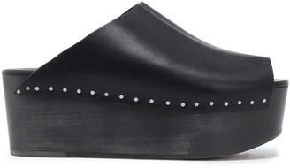 Rick Owens Studded Leather Platform Sandals