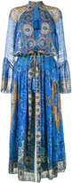 Etro crinkle printed dress - women - Silk - 42
