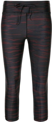 The Upside Tiger Print Cropped Leggings