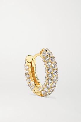 Maria Tash 8mm 18-karat Gold Diamond Hoop Earring - one size