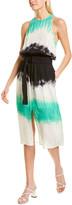 A.L.C. Tallulah Silk Midi Dress