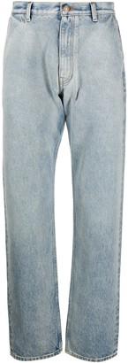 Alanui Washed Straight Jeans