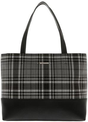 Basque Evie Double Handle Grey Tote Bag