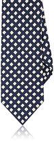 Drakes Drake's Men's Diamond-Print Silk Necktie