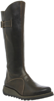 Fly London Mol 2 Low Wedge Buckle Boots