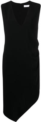 IRO V-neck asymmetric dress