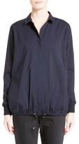St. John Sport Collection Techno Stretch Cotton Shirt