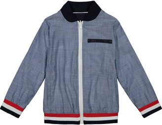 Andy & Evan Reversible Cotton Bomber Jacket