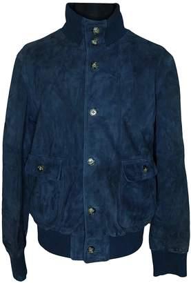 Ami Navy Suede Jackets