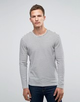 Jack and Jones Long Sleeve Top in Stripe